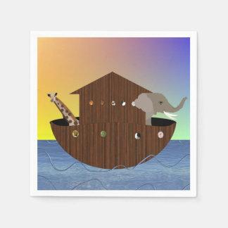 Servilletas de la arca de Noah Servilletas De Papel