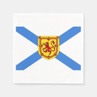 Servilletas de la bandera de Nueva Escocia Servilleta Desechable