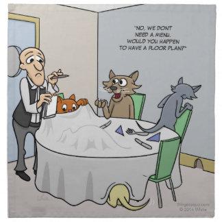 Servilletas de la búsqueda del ratón