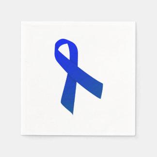 Servilletas de la cinta del cáncer de colon servilleta de papel
