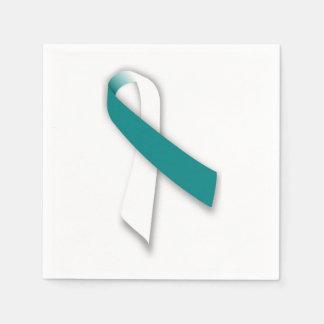 Servilletas de la cinta del cáncer de cuello del servilletas de papel