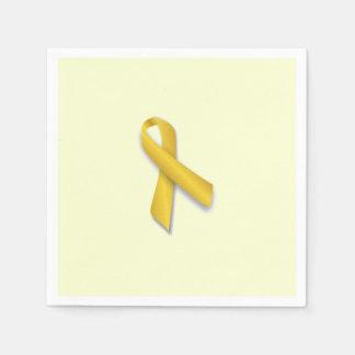 Servilletas de la cinta del cáncer de la niñez servilletas desechables