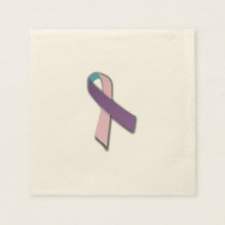 Servilletas de la cinta del cáncer de tiroides servilletas desechables