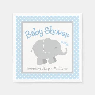 Servilletas de la fiesta de bienvenida al bebé del servilletas de papel