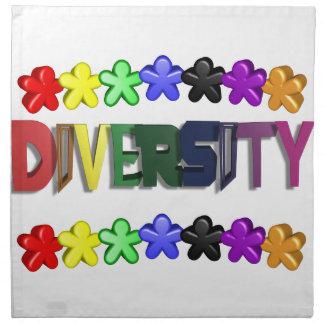 Servilletas de la gente de Lil de la diversidad