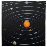 Servilletas de la Sistema Solar