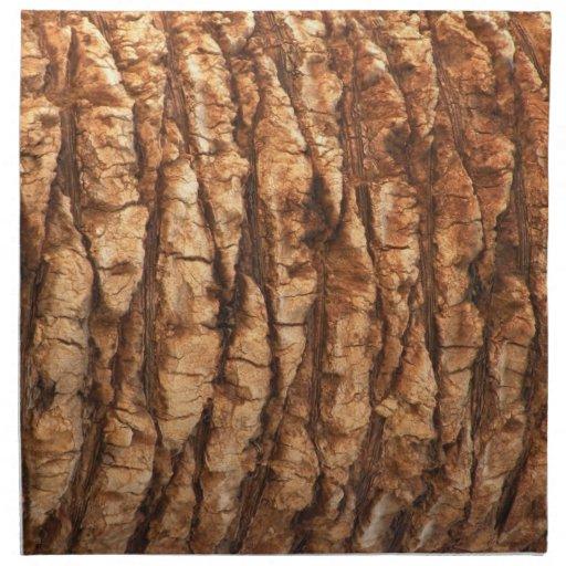 Servilletas de la tela de la corteza de palmera