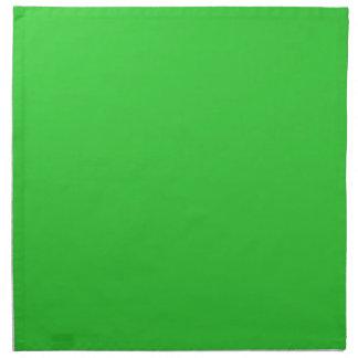 Servilletas de la verde lima