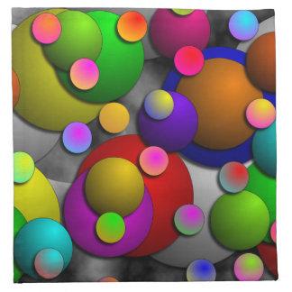 Servilletas de las burbujas