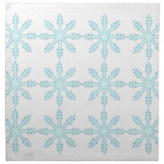 Servilletas de los copos de nieve