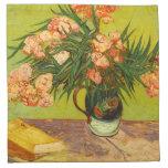 Servilletas de los Oleanders de Van Gogh