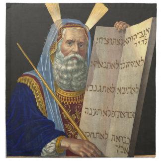 """Servilletas de """"Moses y de los diez mandamientos"""""""