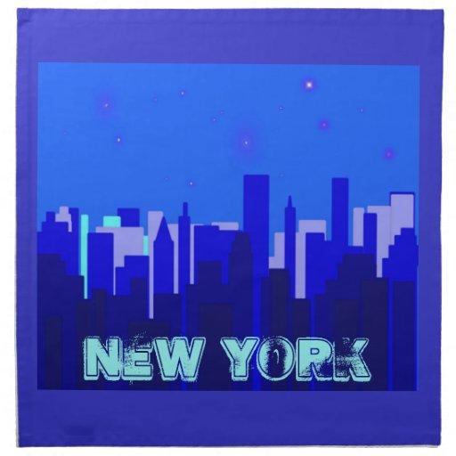 Servilletas de Nueva York