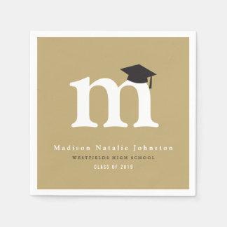 Servilletas de papel de la graduación clásica