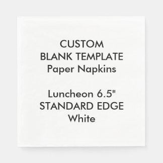 Servilletas de papel de la impresión del llano del
