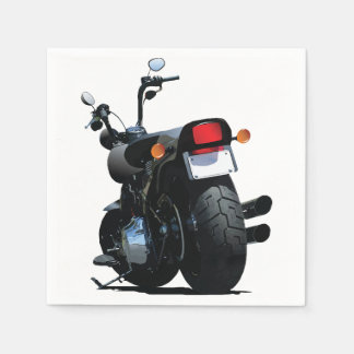 Servilletas de papel de la motocicleta
