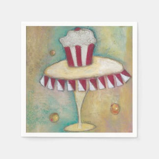 Servilletas de papel de los dulces