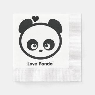 Servilletas de papel de Panda® del amor