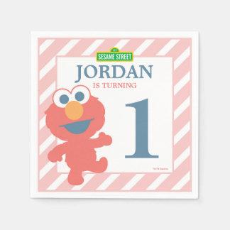 Servilletas de papel del cumpleaños del bebé de
