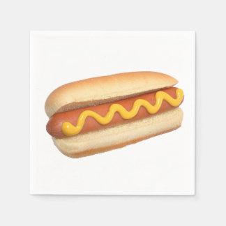 """Servilletas de papel del diseño del """"perrito calie"""