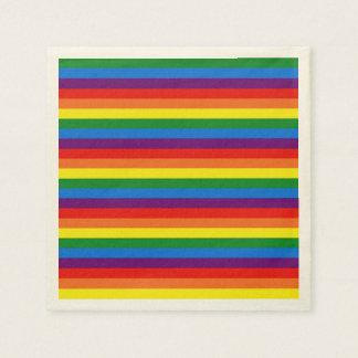 Servilletas de papel del fiesta del orgullo gay