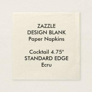 Servilletas de papel personalizadas del cóctel