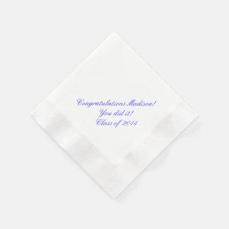 Servilletas de papel personalizadas