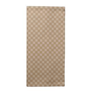 servilletas de tabla cuadradas del color de