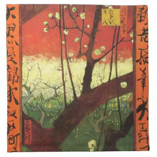 Servilletas de Van Gogh Japonaiserie