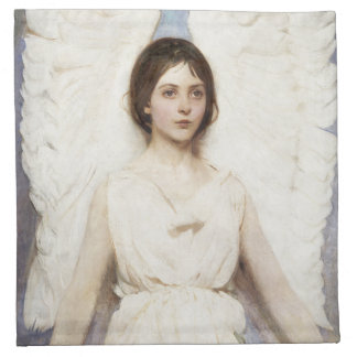 Servilletas del ángel de Abbott Handerson Thayer