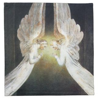Servilletas del ángel de Guillermo Blake