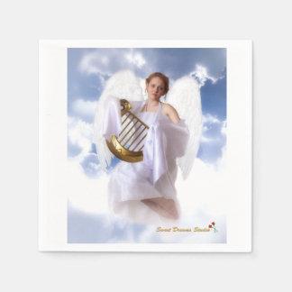 Servilletas del ángel servilleta de papel