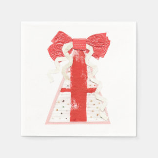 Servilletas del árbol del regalo servilleta de papel