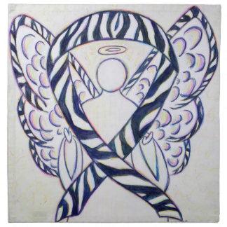 Servilletas del arte del ángel de la cinta de la