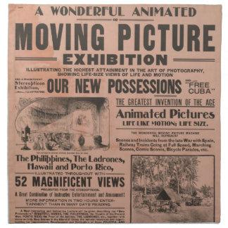 Servilletas del arte del transporte del vintage