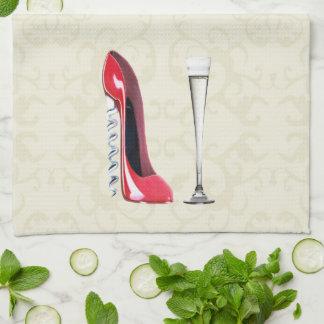 Servilletas del arte del zapato del estilete toallas de mano