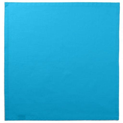 Servilletas del azul de Franklin