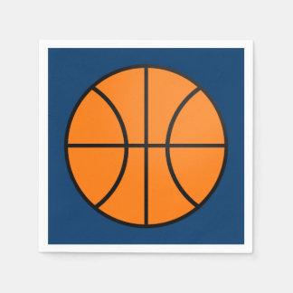 Servilletas del baloncesto servilletas de papel