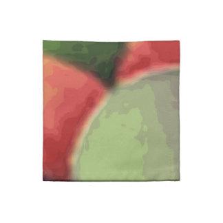 Servilletas del cóctel del arte del arco iris por