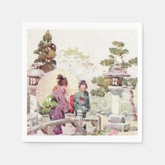 Servilletas del estilo japonés servilletas de papel