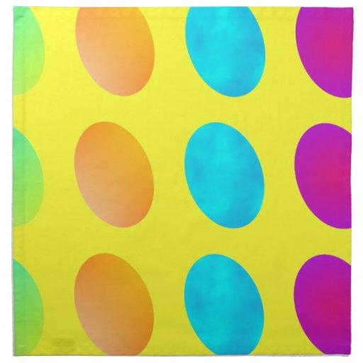 Servilletas del huevo de Pascua