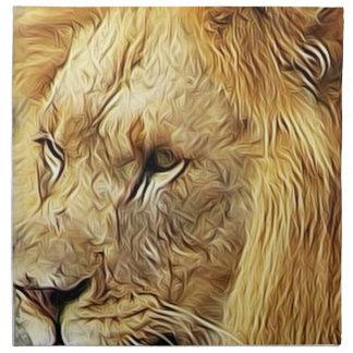 Servilletas del león
