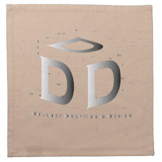 Servilletas del logotipo del negocio