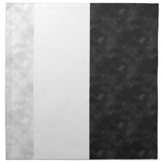 Servilletas del negro, grises y blancas del bloque