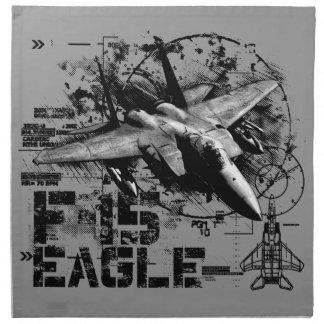 Servilletas del paño de F-15 Eagle (fije 4) de la