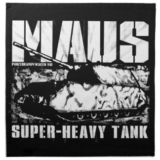 Servilletas del paño de Panzer VIII Maus (fije 4)
