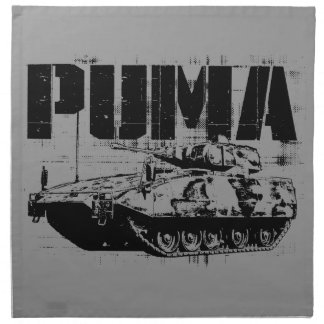 Servilletas del paño del puma (IFV) (fije 4) de la