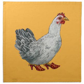 Servilletas del pollo