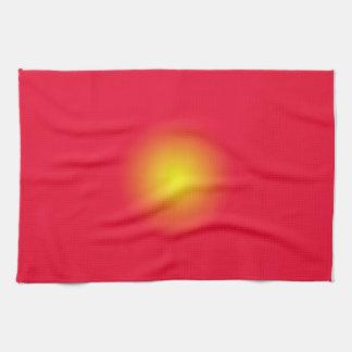 Servilletas del resplandor solar toalla de mano