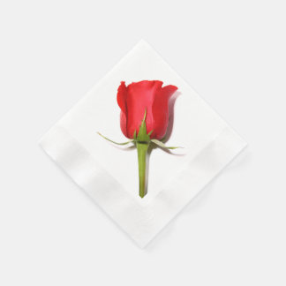 Servilletas del rosa rojo servilleta desechable